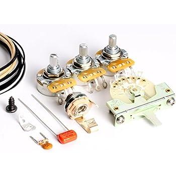 Toneshaper Verkabelungs-Set für Fender Telecaster, SSS2&nbsp ...