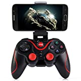 Gamepad Joystick, Bluetooth Controlador de juegos inalámbrico para teléfonos inteligentes / TV / Tabletas / TV cajas bluetooth controlador de juegos inalámbricos