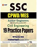 #10: SSC Junior Engineers Civil Engineering: 19 Practice Sets and 9 Solved Papers 2008-2015 (CPWD/MES)