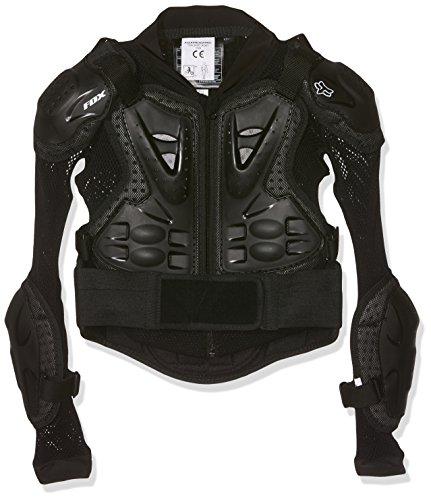 Fox Kinder Protektorenjacke Titan Sport, Black, One-Size, MTB15S-10059-001-OS
