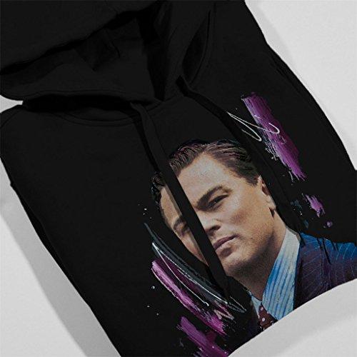 Sidney Maurer Leonardo DiCaprio Official Women's Hooded Sweatshirt Black