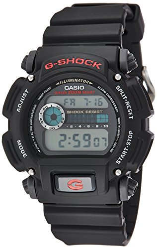Casio DW-9052-1 - Reloj de pulsera para hombre,...
