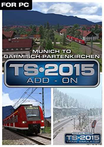 Train Simulator 2015 Munich Garmisch
