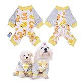 WIDEN Pigiama cane gatto cucciolo animale domestico cappuccio Abbigliamento calda vestiti cappotto