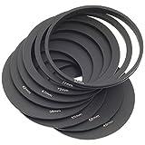 24 Stück volle Filter und Verlaufsfilter + 9 Adapterringhalter Objektiv Kappe für Cokin LF141 - 7