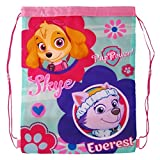 Paw Patrol 1101E-6192 - Skye & Everest Junior Pull String Gym & Swim Bag