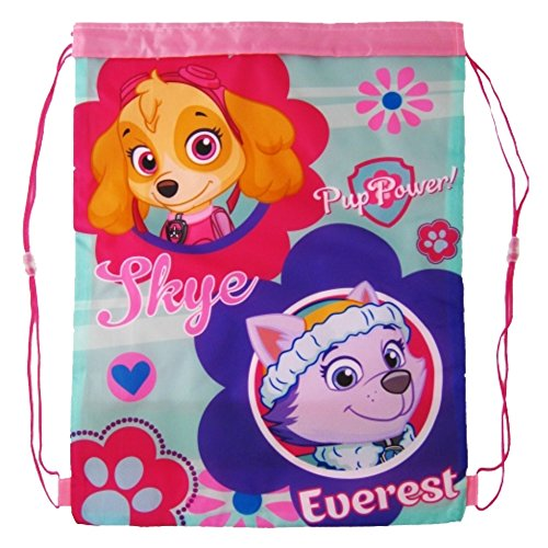 Paw Patrol 1101e-6192 – Skye & Everest Junior Pull String Gym & Swim Tasche (Everest-tasche)