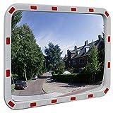 vidaXL Verkehrsspiegel Sicherheitsspiegel Überwachungsspiegel 60x80 cm Reflektor