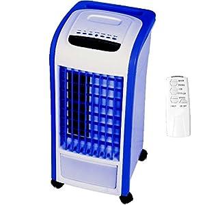 3in1 Mobiles Klimagerät 2,1KW inkl. Fernbedienung, Klimaanlage, Ventilator, Luftentfeuchter in einem Gerät, Kühlleistung: