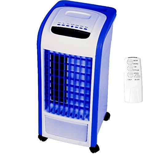 Syntrox Germany- Refrigerador 4 en 1 con mando a distancia, 800m³/h, con ventilador, humidificador y ambientador de aire