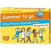 Sommer to go Kita-Praxis-Karten für den Morgenkreis (Don Bosco Kita-Praxis-Karten)
