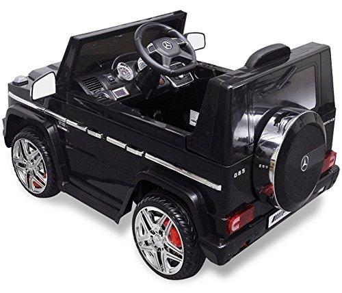 RC Auto kaufen Kinderauto Bild 3: Trendsky Lizenz Mercedes Benz G65 Elektro Power mit 2X Power Motoren, Kinderauto Sportwagen Kinder Akku Fahrzeug Kinderfahrzeug Kid Auto (Schwarz)*