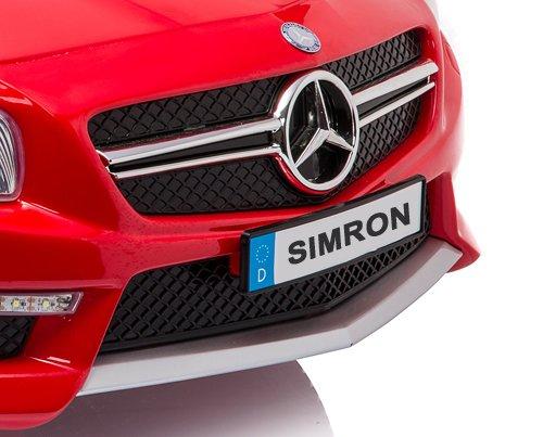 RC Auto kaufen Kinderauto Bild 4: SIMRON - Mercedes-Benz SL-63 AMG Cabriolet Ride-On 12V Elektro Kinderauto Kinderfahrzeug Kinder Elektroauto*