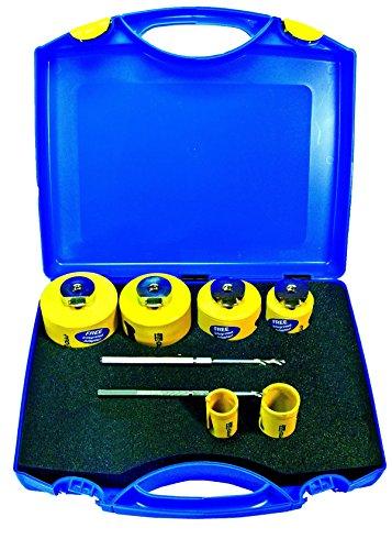 DDH1MP /& DDH2MP Click /& Drill Zentrierbohrer PRO-FIT Multi-Purpose-Lochs/ägensatz 6-teilig /Ø 25-35-44-60-68-80mm mit integriertem Adaptor und je 1 St HSS