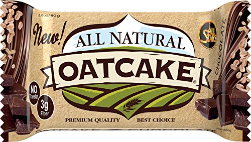 All Stars All Natural Oatcake Bar, Chocolate, 24er Pack (24 x 80 g) - 8