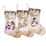 HAPPYWINTER Weihnachtsstrümpfe Geschenk Tasche Ornamente Anhänger Kleine Stiefel Hängen Weihnachten Weihnachten Muster Druck Party Dekoration Lieferungen