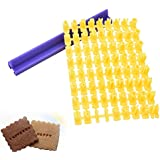 Sello Welcom de letras y números para galletas, cortador de alfabeto de sellos para galletas y DIY