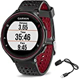 Garmin Forerunner 235 GPS Sport Watch - Marsala - Charging Clip Bundle includes Forerunner 235 GPS and Charging Clip