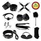 Paloqueth Sex Werkzeuge 10 Stück unter dem Bett Restraint System Slave S&M Fesseln Bondage Kit