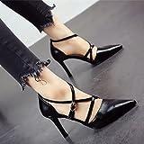 FLYRCX Onorevoli tacchi alti con una belle scarpe sexy personalità del  mondo della moda di temperamento f34fbb57466