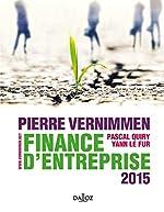 Finance d'entreprise 2015 d'Yann Le Fur