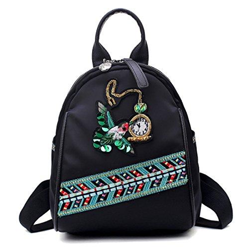 Rose Stickerei Damen Schultertasche Handtasche,Style5 Style1