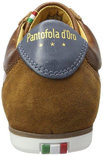 Pantofola d'Oro Herren Savio Romagna Uomo Low Top Braun (Tortoise Shell)