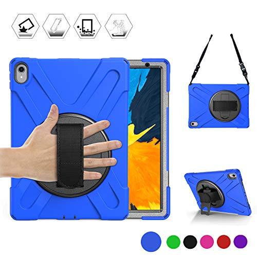 BRAECN HDY-PRO11-BLUE Tablet-Schutzhülle, Apple iPad Pro 11 inch Tablet Apple iPad Pro 11 inch 2018 Tablet Apple iPad Pro 11 inch Tablet 2018 Model Apple iPad A1980/A2013/A1934/A1979 Tablet, blau