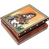 Jewellery Box/Trinket Box/Storage Box Out Of Gemstones And Wood New Banithani Design By Handicrafts Paradise