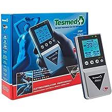Tesmed MAX 830, Elettrostimolatore Muscolare Professionale con 20 elettrodi: massima potenza, addominali, potenziamento muscolare, contratture e inestetismi