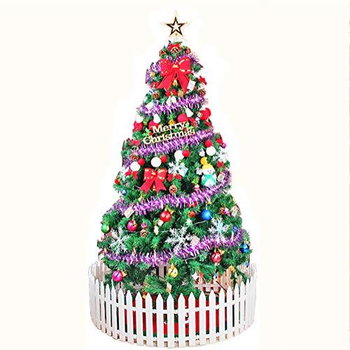 LIULINAN Weihnachtsdekorationsbaum, Weihnachtsbaumverpackungslaternenschreibtisch-PVC-Weihnachtsbaum, Künstlicher Innendekoration Weihnachtsbaum-Rahmensatz
