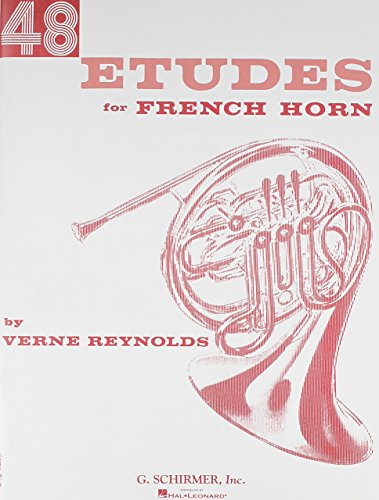 Verne Reynolds 48 Etudes For French Horn Hn by Various (6-Jan-1998) Paperback