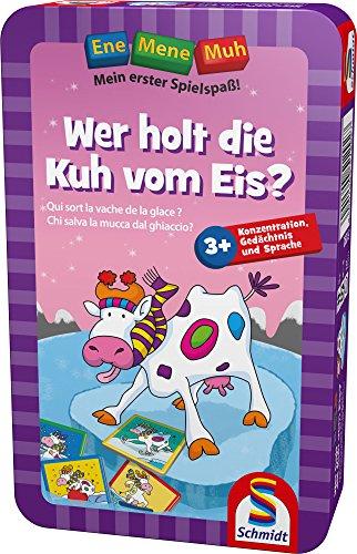 Schmidt Spiele 51292 - Ene Mene Muh, Wer holt die Kuh vom Eis?