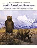North American Mammals Dioramas Coloring Book Cb180