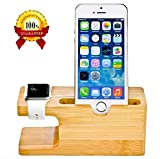 Best I Phone Docking Station - Delhisalesmart™ Genuine Natural Classic Series Bamboo Wooden Mobile Review