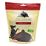 Pet Cuisine Spuntini Naturali per i Cani, Bastoni Jerky di manzo, 250g