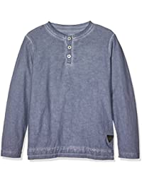 TOM TAILOR Kids Jungen T-Shirt Overdyed Slub Henley