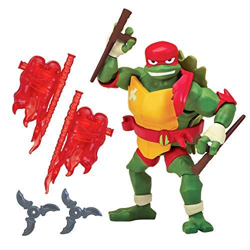 Nickelodeon Flair - 80804 Rise of The Teenage Mutant Ninja Turtles - Raphael - Actionfigur mit Zubehör, etwa 10 bis 12cm