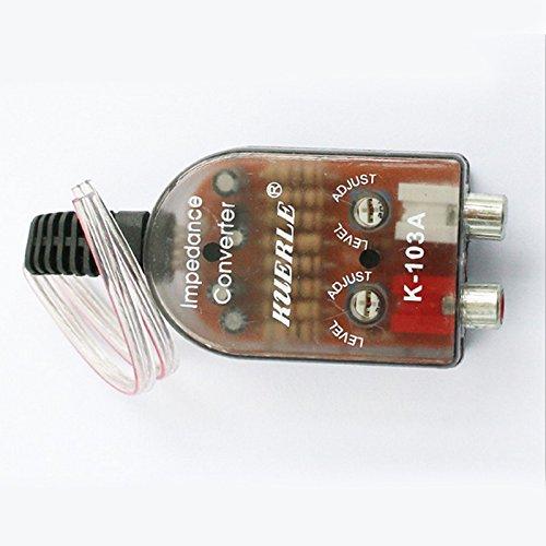 Lautsprecher Auto Subwoofer Combo Und (Ocamo Auto Audio Conversion Änderung High zu Low Audio Konverter Umrüst Kit)
