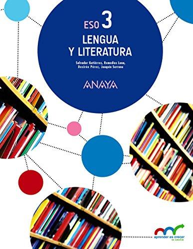 Lengua y literatura 3 (aprender es crecer en conexión)
