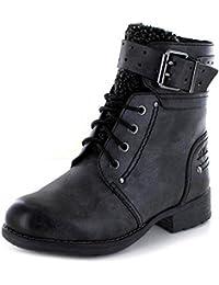 s.Oliver Damen Schnürstiefelette 26443-29,Frauen Stiefel,Boots,Halbstiefel, 8b542fa6c2