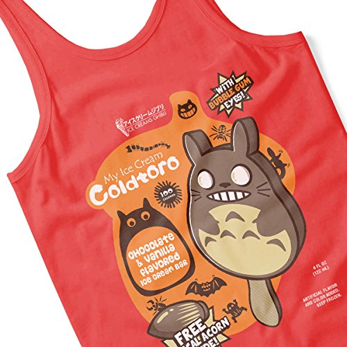 My Icecream Coldtoro My Neighbor Totoro Men's Vest Red