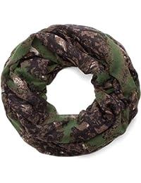 style3 Damen Loop Schal mit elegantem Muster in gedeckten Farben
