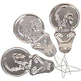 TOOGOO(R) 1 paquet Enfile Aiguilles En Aluminium Outil Couture Mercerie Needle Threader argente