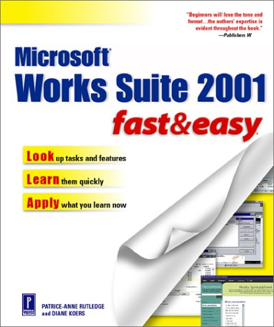 Microsoft Works Suite 2001 Fast & Easy