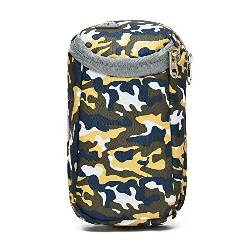 HPADR Sportarmtasche 6 Zoll Laufen Handy Arm Paket Männer Und Frauen Fitness-Tasche Läuft Gürtel Wasserdicht Eingtaschen 18cm * 10cm gelb
