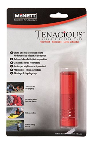McNett Tenacious Tape Fabric and Seam Repair - Clear , 50 x 7.5 cm