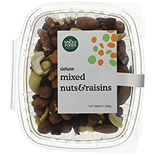 Whole Foods Market Deluxe Mixed Nuts & Raisins 2 x 250g