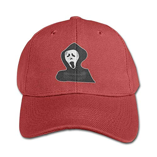 Haunting Halloween Ghost Pure Color Baseball Cap Cotton Adjustable Kid Boys Girls Hat