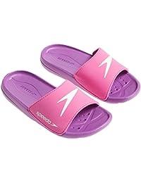 Speedo Atami Core Sld Jf Zapatos multicolor Pink/Purple/White Talla:12 UK (31 IT)